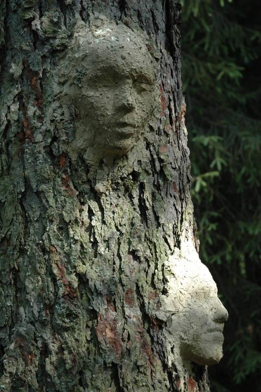 Twarze - duchy drzewne